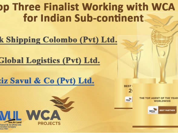 Finalist Working with WCA for Indian Sub-Continent