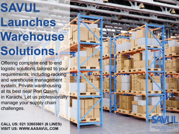Savul Launches Warehouse Solutions